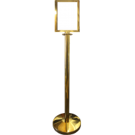 Brass Effect Upright A4 Portrait Picture Frame