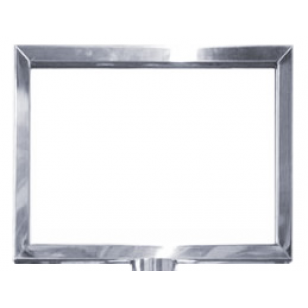 Polished Stainlees Steel A4 Landscape Picture Frame