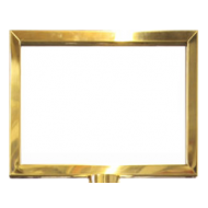 Brass Effect A4 Landscape Picture Frame